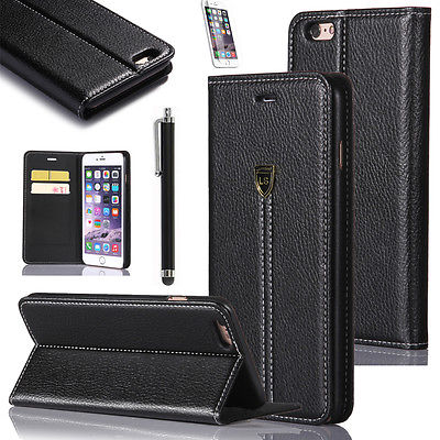 Hot Item Luxury Magnetic Flip PU Leather Wallet Card Case Stand Cover For DooGee
